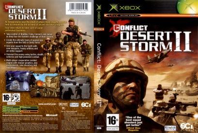Conflict Desert Storm II PAL COVER