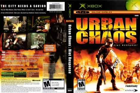 Urban Chaos Riot Response COVER